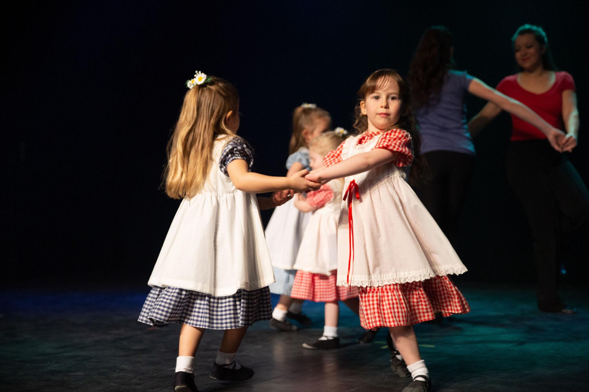 Manigance école de danse groupe Éveil