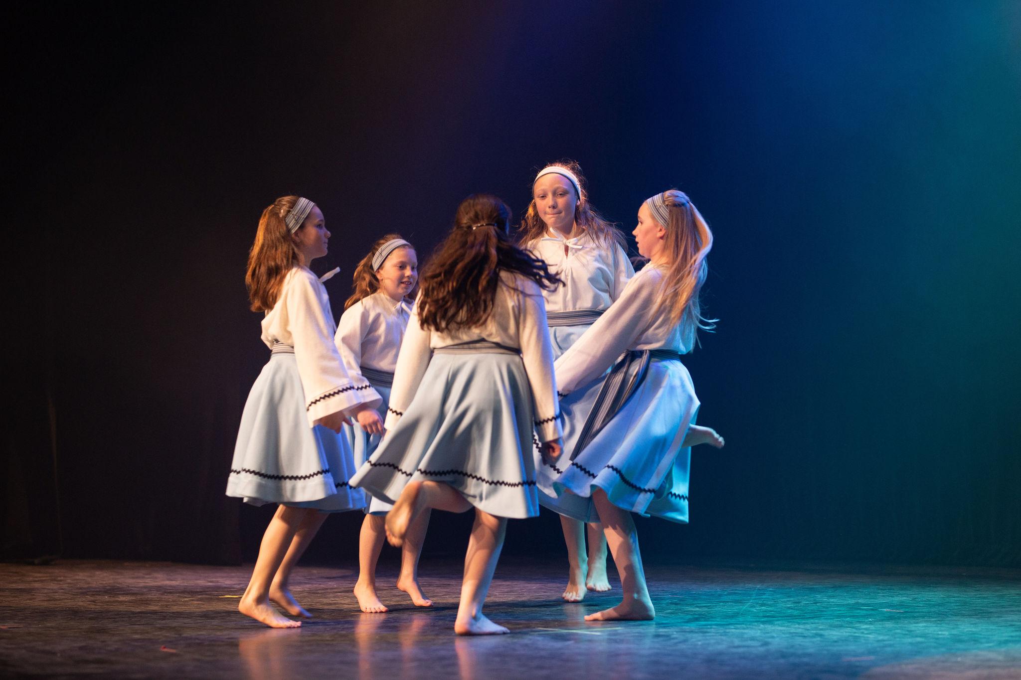Manigance école de danse groupe Junior